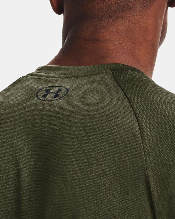 Men's UA Tech™ 2.0 Short Sleeve T-Shirt, Green, pdpMainDesktop image number 3