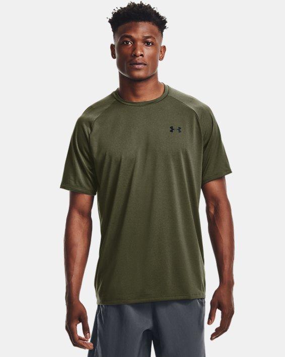 Men's UA Tech™ 2.0 Short Sleeve T-Shirt, Green, pdpMainDesktop image number 0