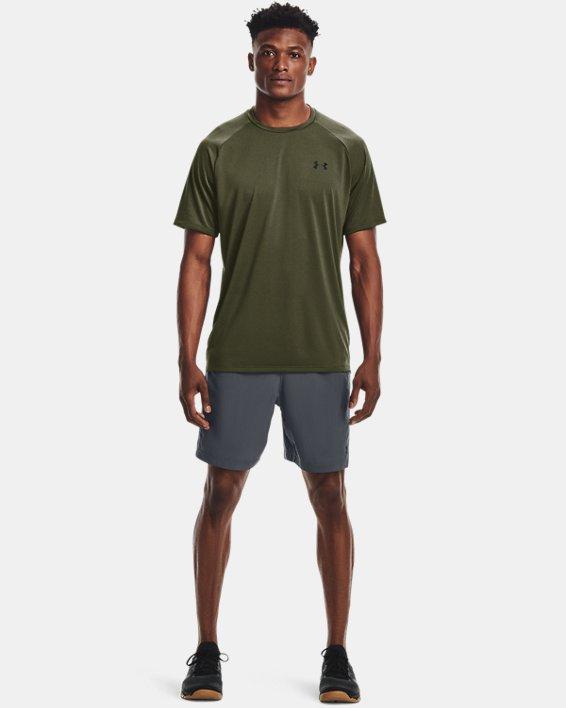 Men's UA Tech™ 2.0 Short Sleeve T-Shirt, Green, pdpMainDesktop image number 2