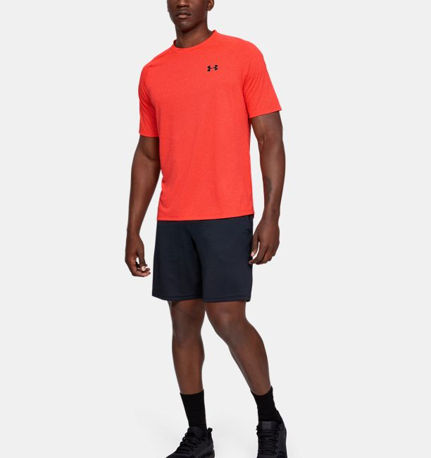 Men's UA Tech™ Short Sleeve T-Shirt, Martian Red, , Martian Red, Click to view full size