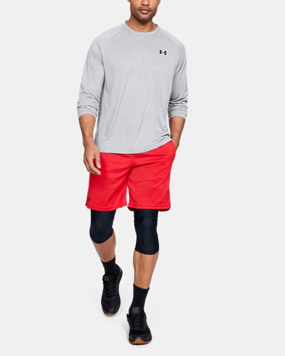 Men's UA Tech™ Long Sleeve, Gray, pdpMainDesktop image number 1