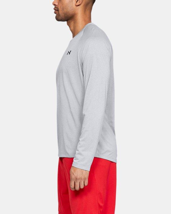 Men's UA Tech™ Long Sleeve, Gray, pdpMainDesktop image number 0