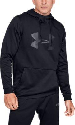 NWT Men/'s Under Armour Fleece® Big Logo Hoodie Sweatshirt 1345321 001 Size Large