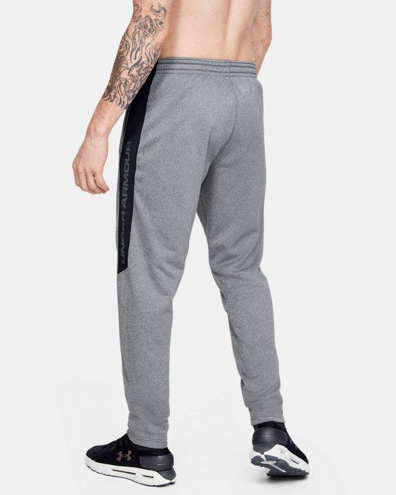 Men's Armour Fleece® Graphic Pants, Gray, pdpMainDesktop image number 2