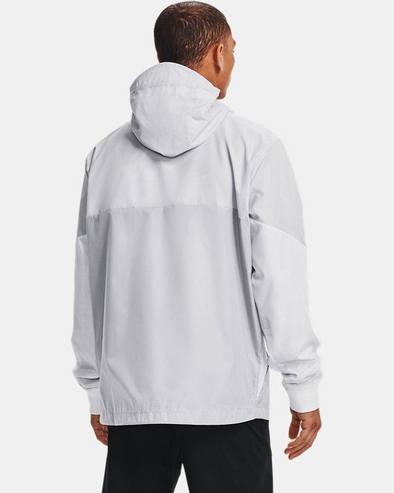 Men's UA Legacy Windbreaker Jacket, Gray, pdpMainDesktop image number 1