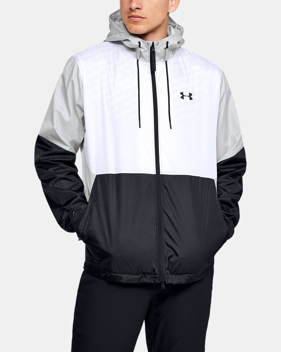 Men's UA Legacy Windbreaker Jacket, White, pdpMainDesktop image number 0
