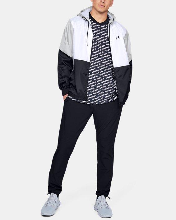 Men's UA Legacy Windbreaker Jacket, White, pdpMainDesktop image number 1