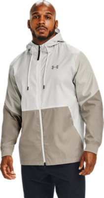 Black Under Armour UA Men/'s Reflective Run 1//Z Zip Hooded Jacket New