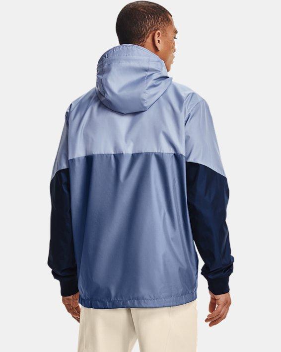 Men's UA Legacy Windbreaker Jacket, Blue, pdpMainDesktop image number 1