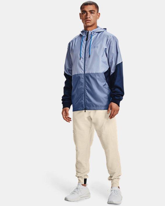 Men's UA Legacy Windbreaker Jacket, Blue, pdpMainDesktop image number 2