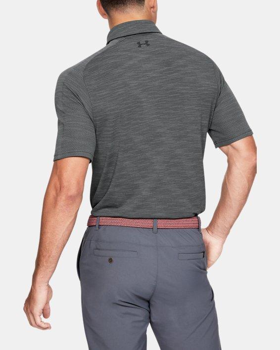 Men's UA Vanish Seamless Polo, Gray, pdpMainDesktop image number 2