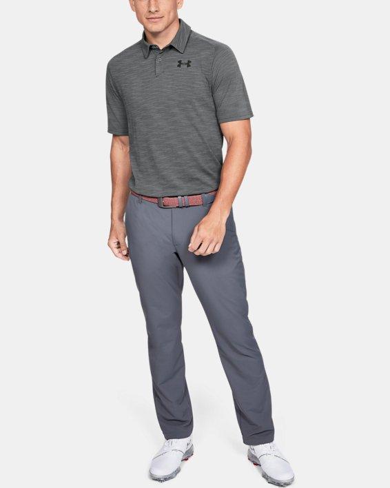 Men's UA Vanish Seamless Polo, Gray, pdpMainDesktop image number 1