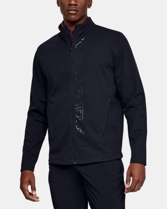 Men's UA Storm Full Zip, Black, pdpMainDesktop image number 0
