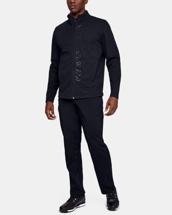 Men's UA Storm Full Zip, Black, pdpMainDesktop image number 1