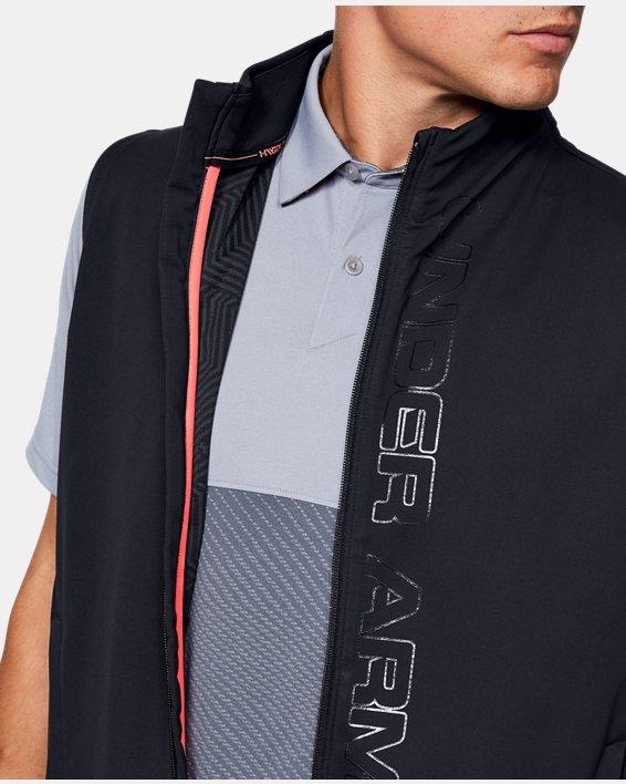 Men's UA Storm Vest, Black, pdpMainDesktop image number 5