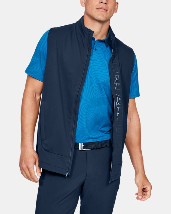 Men's UA Storm Vest, Navy, pdpMainDesktop image number 0