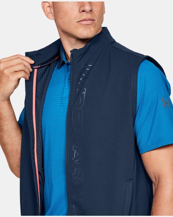 Men's UA Storm Vest, Navy, pdpMainDesktop image number 5