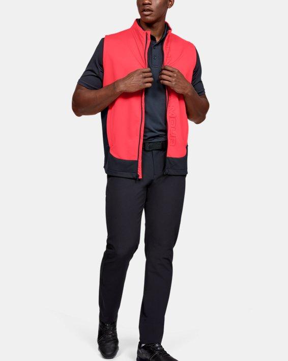Men's UA Storm Vest, Red, pdpMainDesktop image number 1