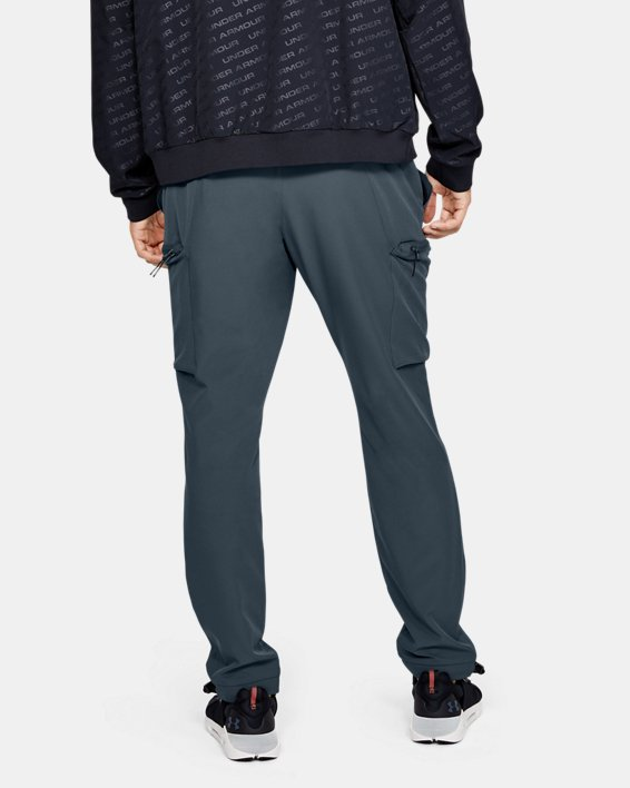 Men's UA Unstoppable Woven Cargo Pants, Gray, pdpMainDesktop image number 2