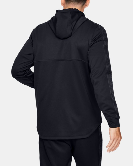 Men's UA Unstoppable Track Jacket, Black, pdpMainDesktop image number 2