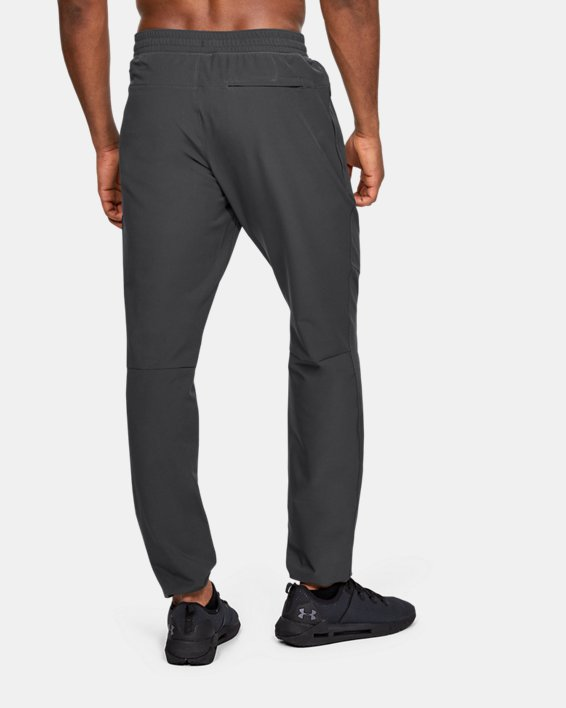 Men's UA Unstoppable Woven Pants, Gray, pdpMainDesktop image number 3