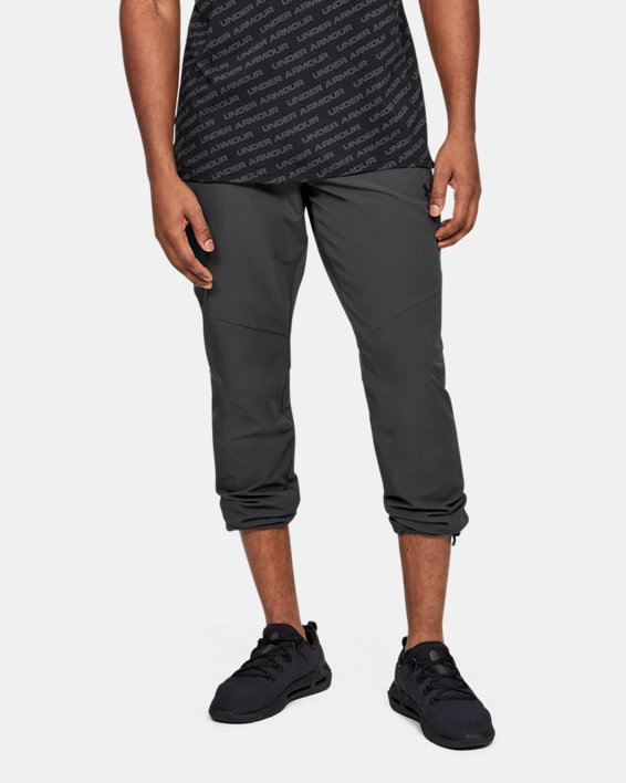Men's UA Unstoppable Woven Pants, Gray, pdpMainDesktop image number 2