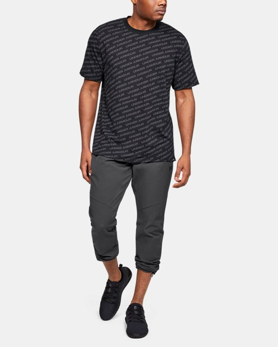 Men's UA Unstoppable Woven Pants, Gray, pdpMainDesktop image number 1