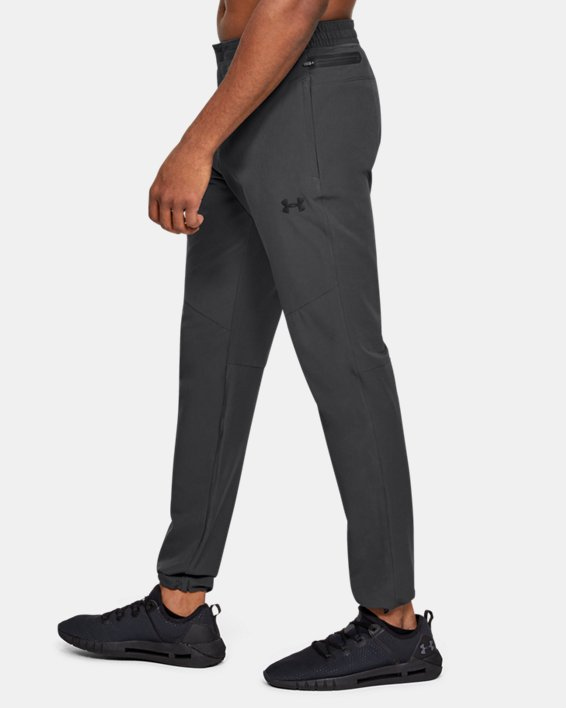 Men's UA Unstoppable Woven Pants, Gray, pdpMainDesktop image number 0