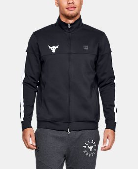 New Arrival Men's UA x Project Rock Track Jacket  1  Color Available $110