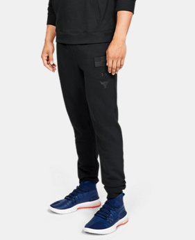 New Arrival Men's UA x Project Rock USDNA Joggers  1  Color Available $80