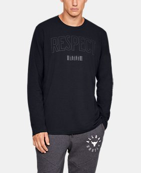 New Arrival Men's UA x Project Rock USDNA Long Sleeve  1  Color Available $40