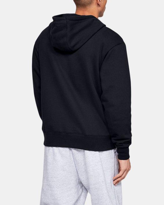Haut UA Performance Originators Fleece Full Zip pour homme, Black, pdpMainDesktop image number 2