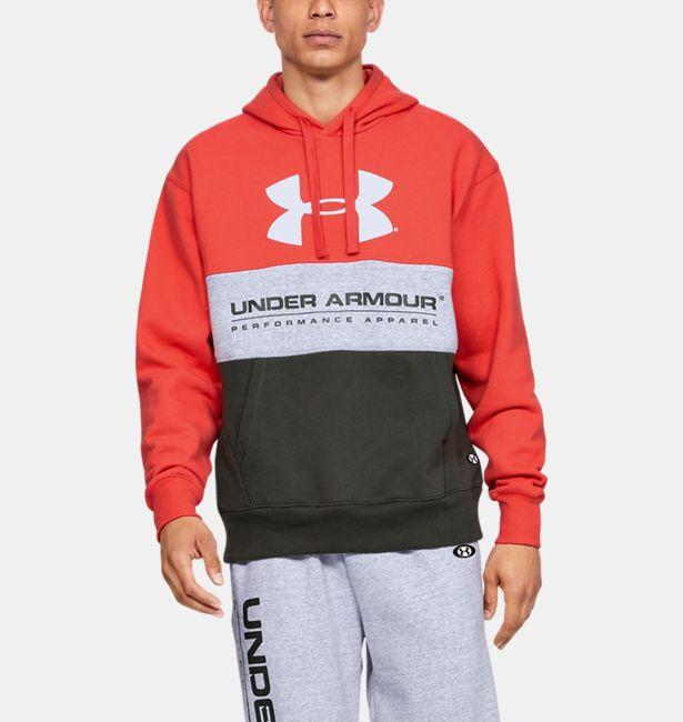 Men's UA Performance Originators Fleece Logo Hoodie|Under