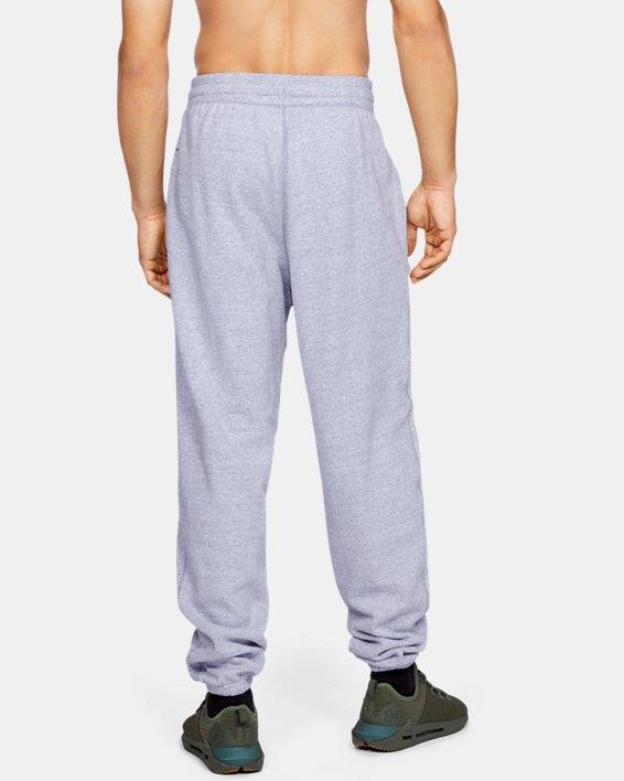 Men's UA Performance Originators Fleece Logo Pants, Gray, pdpMainDesktop image number 3