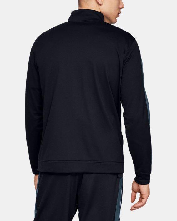 Men's UA Unstoppable Essential Track Jacket, Black, pdpMainDesktop image number 2
