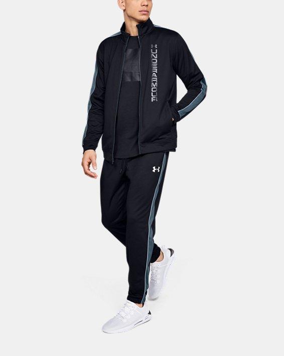 Men's UA Unstoppable Essential Track Jacket, Black, pdpMainDesktop image number 1