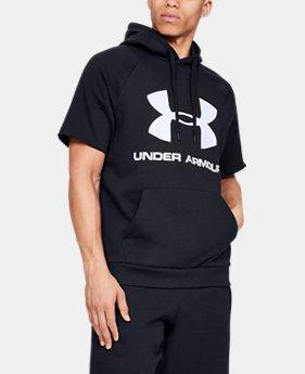 2c782645e New Arrival Men's UA Rival Fleece Logo Short Sleeve Hoodie 4 Colors  Available $40