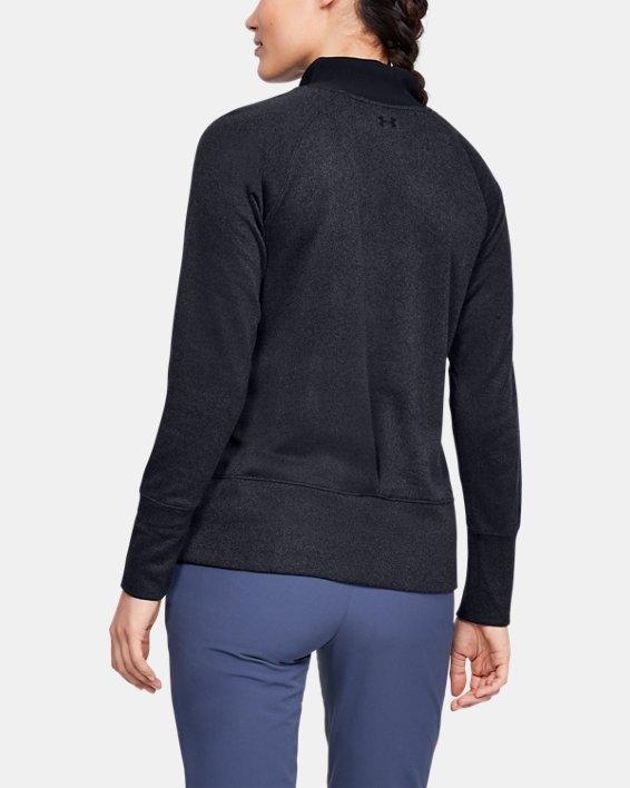 Women's UA Storm SweaterFleece, Black, pdpMainDesktop image number 2