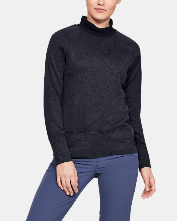 Women's UA Storm SweaterFleece, Black, pdpMainDesktop image number 0