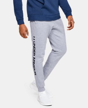 9ab7fb48c New Arrival Men's UA Rival Fleece Logo Joggers 3 Colors Available $50