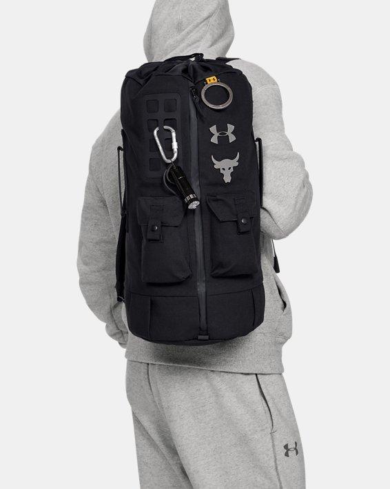 Men's Project Rock 60 Bag, Black, pdpMainDesktop image number 0