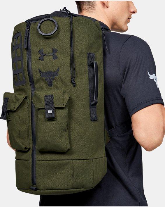 Men's Project Rock 60 Bag, Green, pdpMainDesktop image number 0