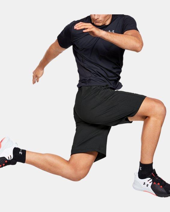 Men's UA Stretch Jacquard Shorts, Gray, pdpMainDesktop image number 0