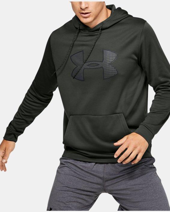 Frenesí armario Fácil  Men's UA Armour Fleece® Big Logo Hoodie | Under Armour