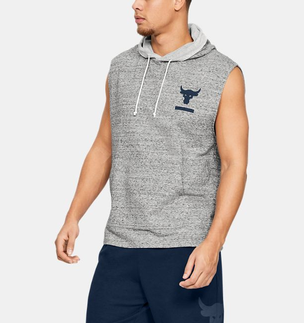 8189e6d784333 Men s Project Rock Terry Sleeveless Hoodie