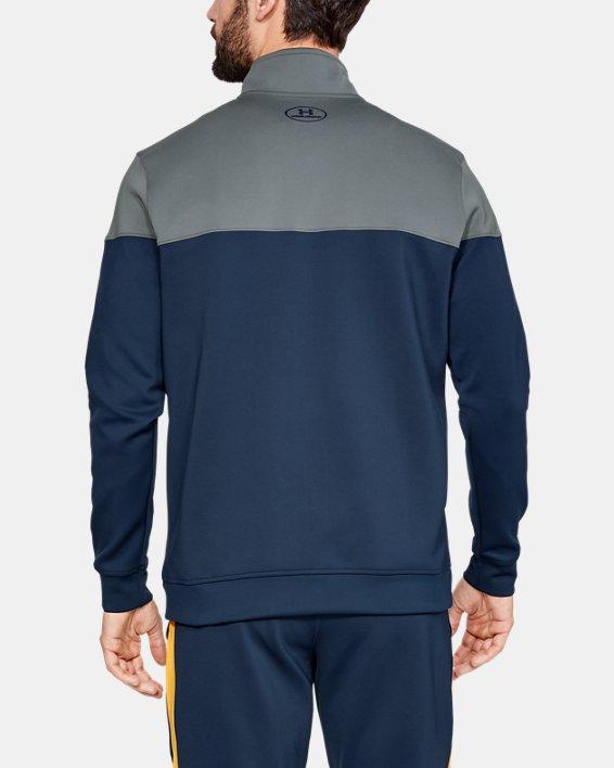 Men's Project Rock Track Jacket, Navy, pdpMainDesktop image number 2