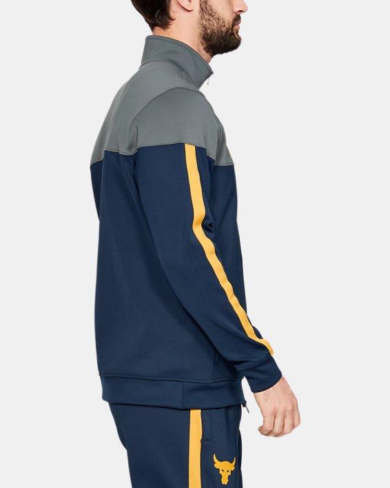 Men's Project Rock Track Jacket, Navy, pdpMainDesktop image number 3