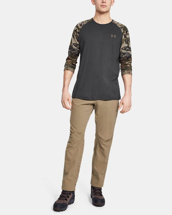 Men's UA Camo Sleeve Utility T, Gray, pdpMainDesktop image number 1