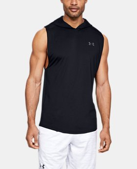63ac4a61 New Arrival Men's UA MK-1 Sleeveless Hoodie 3 Colors Available $35