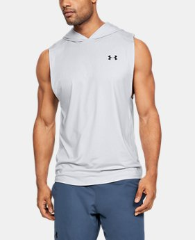b581e219 New Arrival Men's UA MK-1 Sleeveless Hoodie 3 Colors Available $35